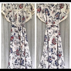 Ann Taylor Floral Dress 10